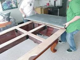 Pool table moves in Manitowoc Wisconsin