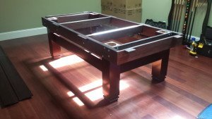 Correctly performing pool table installations, Manitowoc Wisconsin